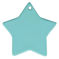 Trendy Basics   Trend Color Island Paradise Ornament (star) by tarastyle