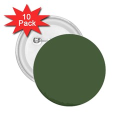 Trendy Basics   Trend Color Kale 2 25  Buttons (10 Pack)  by tarastyle