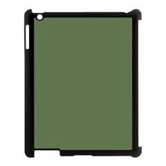 Trendy Basics   Trend Color Kale Apple Ipad 3/4 Case (black) by tarastyle