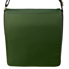 Trendy Basics   Trend Color Kale Flap Messenger Bag (s) by tarastyle