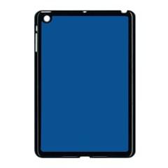 Trendy Basics   Trend Color Lapis Blue Apple Ipad Mini Case (black) by tarastyle