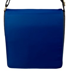 Trendy Basics   Trend Color Lapis Blue Flap Messenger Bag (s) by tarastyle