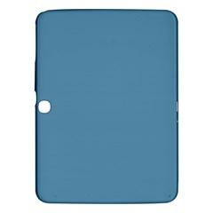 Trendy Basics   Trend Color Niagara Samsung Galaxy Tab 3 (10 1 ) P5200 Hardshell Case  by tarastyle
