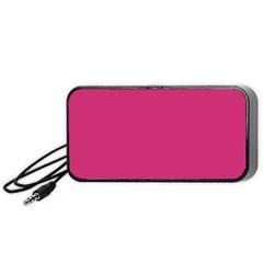 Trendy Basics   Trend Color Pink Yarrow Portable Speaker (black) by tarastyle