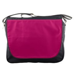 Trendy Basics   Trend Color Pink Yarrow Messenger Bags by tarastyle