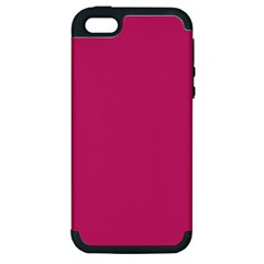 Trendy Basics   Trend Color Pink Yarrow Apple Iphone 5 Hardshell Case (pc+silicone) by tarastyle