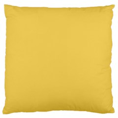 Trendy Basics - Trend Color PRIMEROSE YELLOW Large Cushion Case (Two Sides)