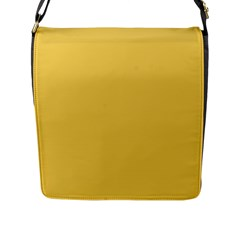 Trendy Basics   Trend Color Primerose Yellow Flap Messenger Bag (l)  by tarastyle