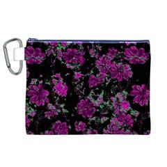 Floral Dreams 12 A Canvas Cosmetic Bag (xl) by MoreColorsinLife