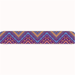 Colorful Ethnic Background With Zig Zag Pattern Design Small Bar Mats by TastefulDesigns