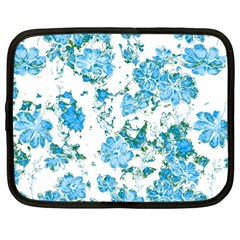 Floral Dreams 12 E Netbook Case (large) by MoreColorsinLife