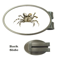 Dark Crab Photo Money Clips (oval)  by dflcprints