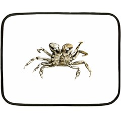 Dark Crab Photo Fleece Blanket (mini) by dflcprints