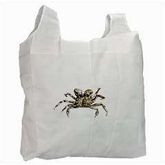 Dark Crab Photo Recycle Bag (one Side) by dflcprints