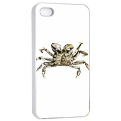 Dark Crab Photo Apple Iphone 4/4s Seamless Case (white) by dflcprints
