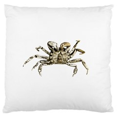 Dark Crab Photo Large Cushion Case (two Sides) by dflcprints