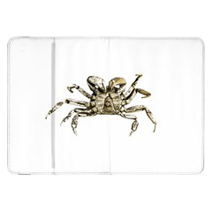 Dark Crab Photo Samsung Galaxy Tab 8 9  P7300 Flip Case by dflcprints