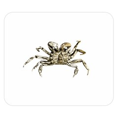 Dark Crab Photo Double Sided Flano Blanket (small)  by dflcprints
