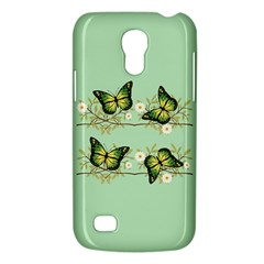 Four Green Butterflies Galaxy S4 Mini by linceazul