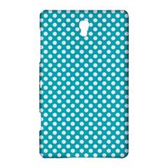 Sleeping Kitties Polka Dots Teal Samsung Galaxy Tab S (8 4 ) Hardshell Case  by emilyzragz