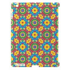 Geometric Multicolored Print Apple Ipad 3/4 Hardshell Case (compatible With Smart Cover) by dflcprints