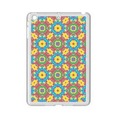 Geometric Multicolored Print Ipad Mini 2 Enamel Coated Cases by dflcprints