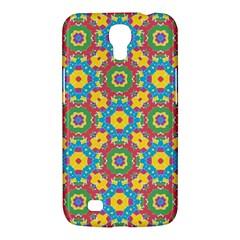 Geometric Multicolored Print Samsung Galaxy Mega 6 3  I9200 Hardshell Case by dflcprints