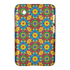 Geometric Multicolored Print Samsung Galaxy Tab 2 (7 ) P3100 Hardshell Case  by dflcprints