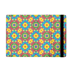 Geometric Multicolored Print Ipad Mini 2 Flip Cases by dflcprints