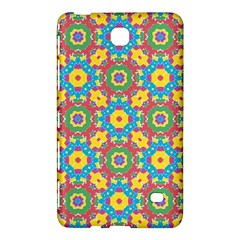Geometric Multicolored Print Samsung Galaxy Tab 4 (8 ) Hardshell Case  by dflcprints