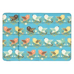 Assorted Birds Pattern Samsung Galaxy Tab 8 9  P7300 Flip Case by linceazul