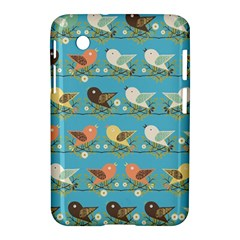 Assorted Birds Pattern Samsung Galaxy Tab 2 (7 ) P3100 Hardshell Case  by linceazul