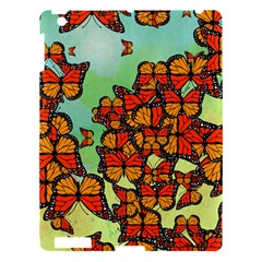 Monarch Butterflies Apple Ipad 3/4 Hardshell Case by linceazul
