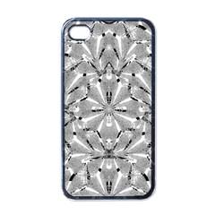 Modern Oriental Ornate Apple Iphone 4 Case (black) by dflcprints