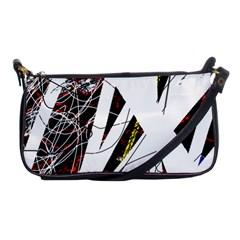 Art Shoulder Clutch Bags by Valentinaart