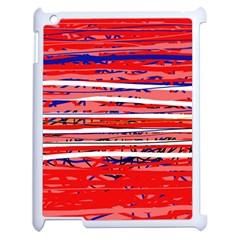 Art Apple Ipad 2 Case (white) by Valentinaart