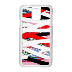 Art Samsung Galaxy S5 Case (white) by Valentinaart