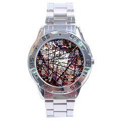 Art Stainless Steel Analogue Watch by Valentinaart