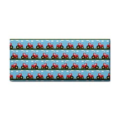 Toy Tractor Pattern Cosmetic Storage Cases by linceazul