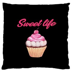 Sweet Life Standard Flano Cushion Case (one Side) by Valentinaart