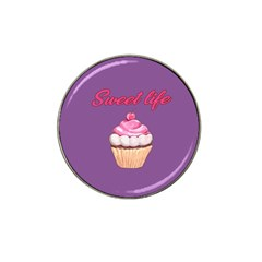 Sweet Life Hat Clip Ball Marker by Valentinaart