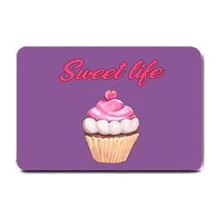 Sweet Life Small Doormat  by Valentinaart