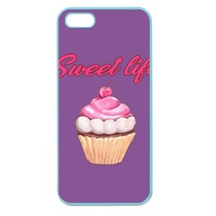 Sweet Life Apple Seamless Iphone 5 Case (color) by Valentinaart