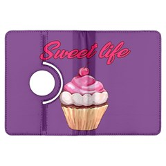 Sweet Life Kindle Fire Hdx Flip 360 Case by Valentinaart