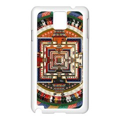 Colorful Mandala Samsung Galaxy Note 3 N9005 Case (White)