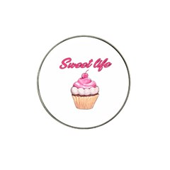 Sweet Life Hat Clip Ball Marker (4 Pack) by Valentinaart
