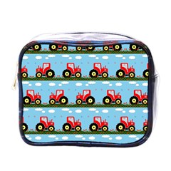 Toy Tractor Pattern Mini Toiletries Bags by linceazul