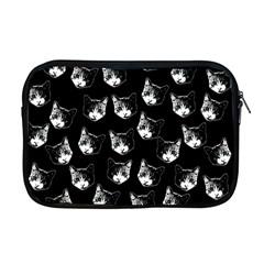 Cat Pattern Apple Macbook Pro 17  Zipper Case by Valentinaart