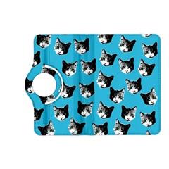 Cat Pattern Kindle Fire Hd (2013) Flip 360 Case by Valentinaart