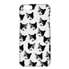 Cat Pattern Apple Iphone 6 Plus/6s Plus Hardshell Case by Valentinaart